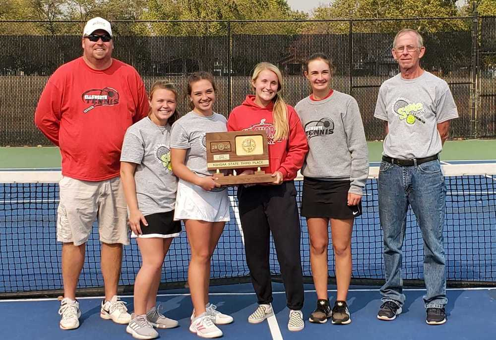Lady Bearcats Tennis End Historic Season with a Third Place Finish at State