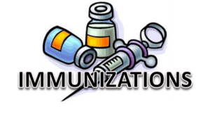 Immunizations for 11 & 12 year olds