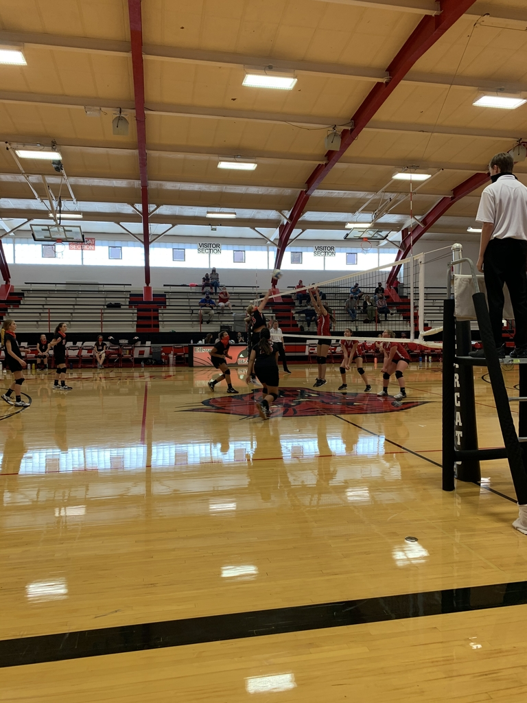 Last home match for the JH Bearcats!