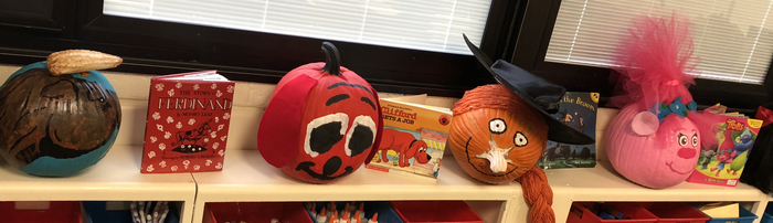 Book Pumpkins