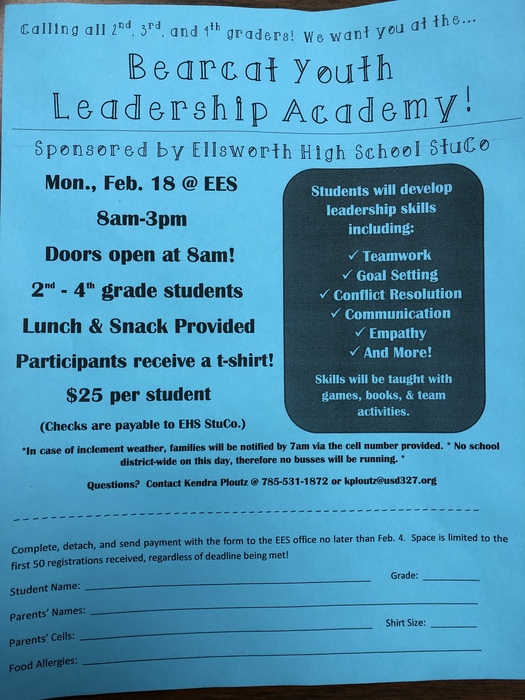 Bearcat Youth Leadership Academy