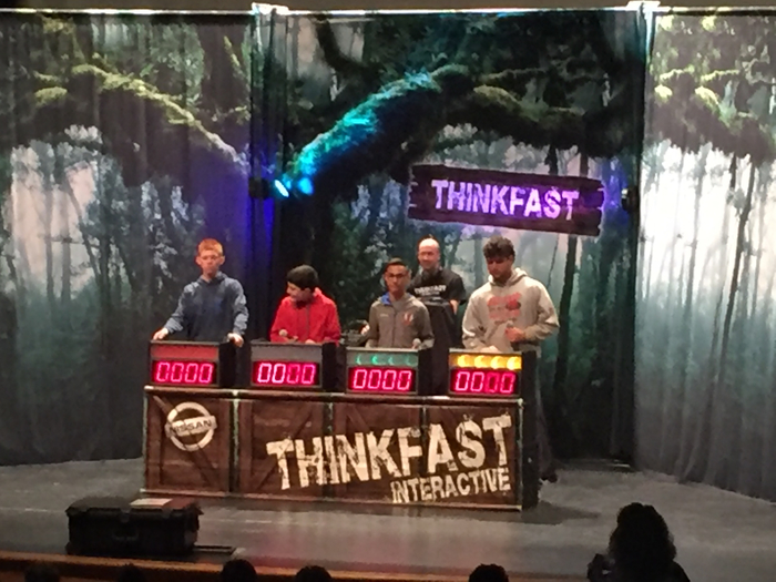 "Student Council's S.A.F.E.-""THINKFAST"""