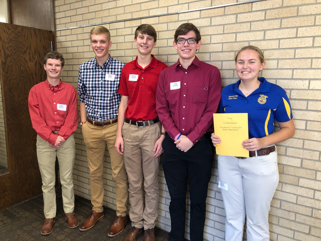 Bearcats place 2nd at Barton STEM Day.