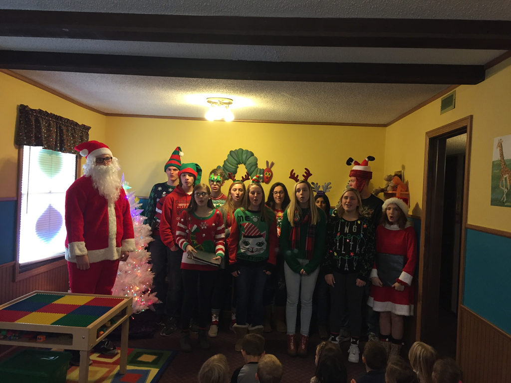 Ellsworth Singers at Precious Pals Preschool