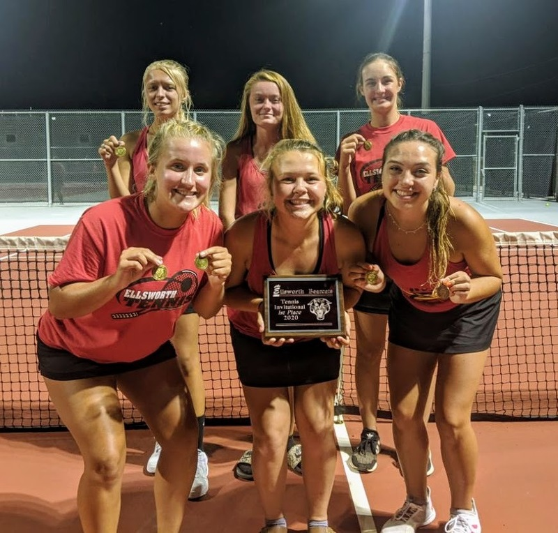 Lady Bearcats Tennis Win Home Invitational!